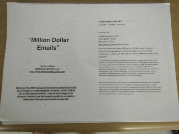 milliondollaremails